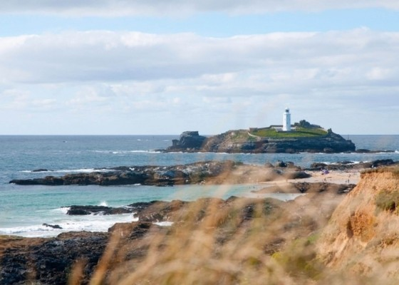 Cornwall-Beaches-Godrevy-Lighthouse-Penventon-Hotel