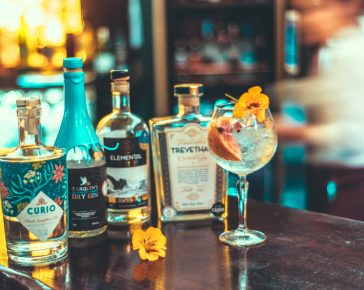 Cornish Gins at The Copper Bar
