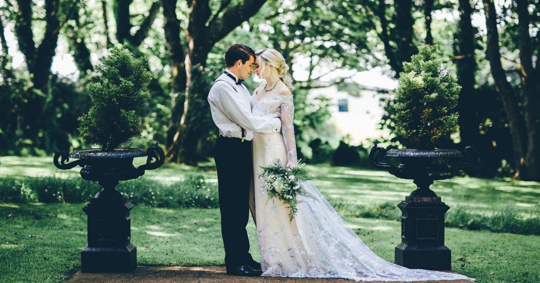 Wedding at the Penventon Park Hotel