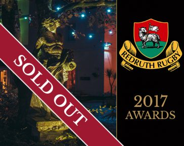 Sold Out Redruth RFC Awards 2017
