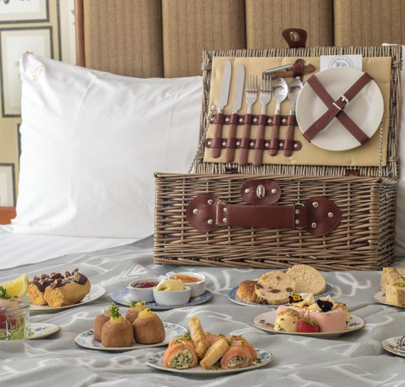 Luxury Picnic Hamper st The Penventon Park Hotel