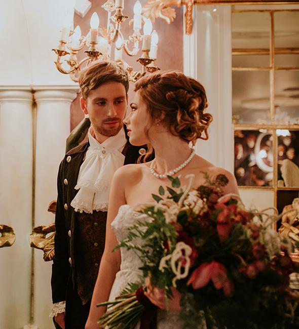 A boutique wedding at the Penventon