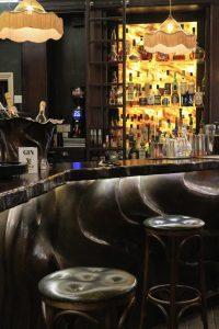 Bespoke Copper Bar at Penventon Park Hotel