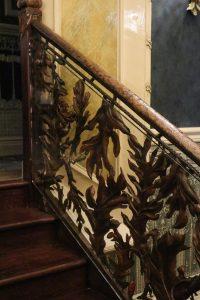 Artisan Copper Staircase at Penventon Park Hotel