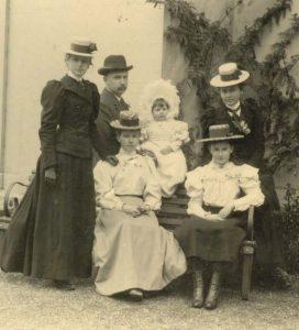 Lady Edith Careek, Penventon Park Hotel, Cornwall