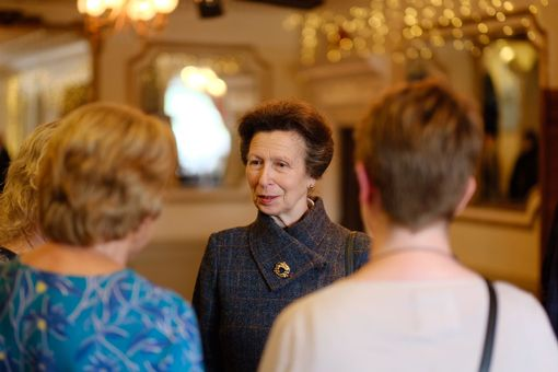 Penventon Park Hotel Princess Anne Royal Visit