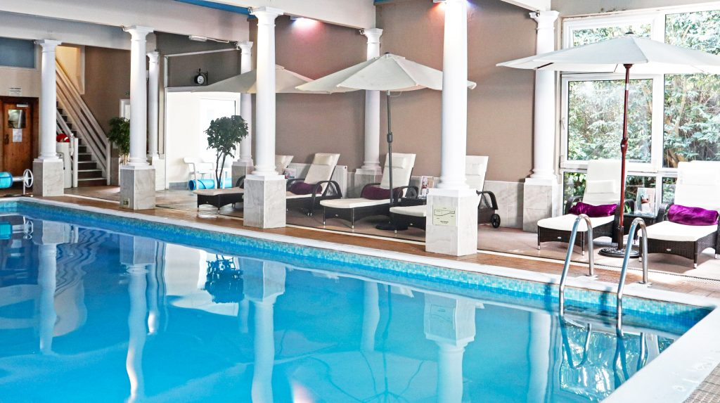 Indoor Heated Pool at the Penventon Park Hotel