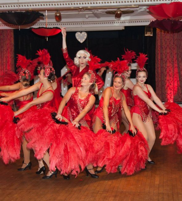 Moulin Rouge event at the Penventon Park Hotel 14th February 2020