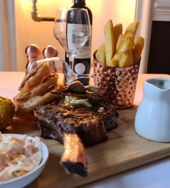 Fine Dining at the Penventon Park Hotel in Cornwall