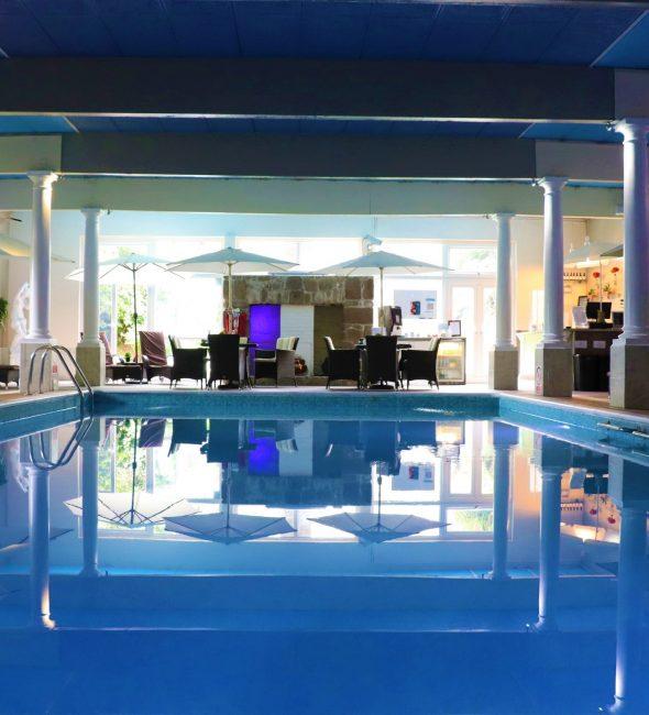 Pool at the Penventon Park Hotel
