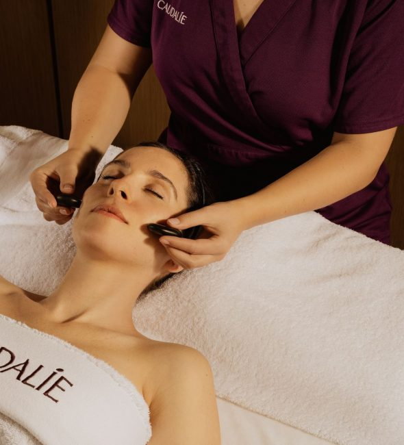 Spa treatments at the Penventon Park Hotel in Cornwall