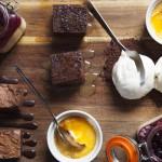 Sharing-dessert-board-Penventon-restaurant-Redruth